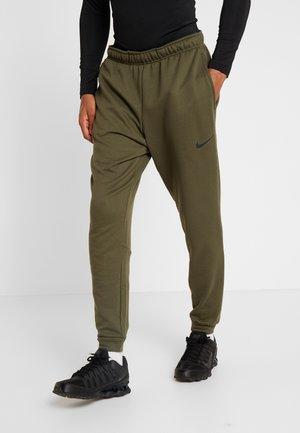 DRY PANT TAPER - Pantalones deportivos - cargo khaki/black