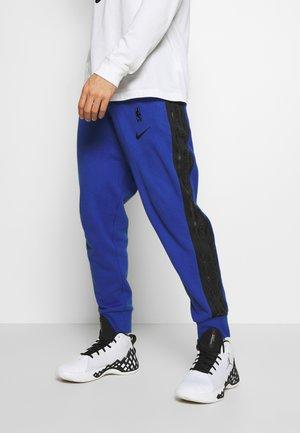 NBA GOLDEN STATE WARRIORS COURTSIDE PANT - Pantalon de survêtement - rush blue/black