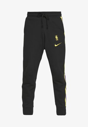 NBA LOS ANGELES LAKERS COURTSIDE PANT - Article de supporter - black/amarillo