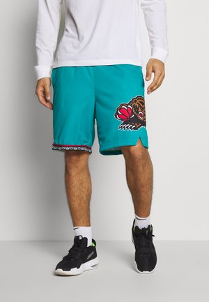 NBA MEMPHIS GRIZZLIES ROAD SWINGMAN SHORT - Pantalón corto de deporte - turbo green/white