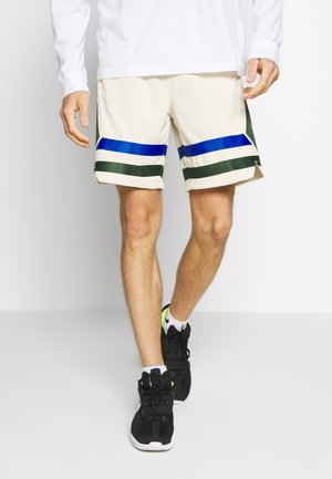 NBA MILWAUKEE BUCKS CITY EDITION SWINGMAN SHORT - Krótkie spodenki sportowe - flat opal/game royal/fir
