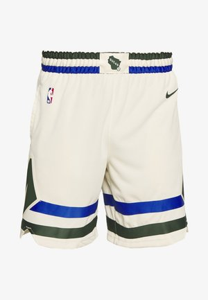 NBA MILWAUKEE BUCKS CITY EDITION SWINGMAN SHORT - Korte broeken - flat opal/game royal/fir