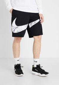 Nike Performance - NIKE DRI-FIT HERREN-BASKETBALLSHORTS - Urheilushortsit - black/white - 0