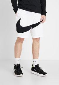 Nike Performance - DRY SHORT - Pantalón corto de deporte - white/black - 0
