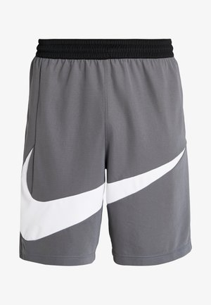 DRY SHORT - Urheilushortsit - iron grey/white