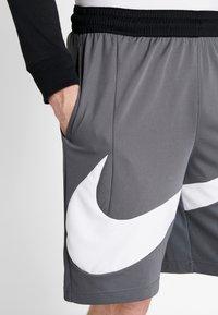 Nike Performance - DRY SHORT - Sports shorts - iron grey/white - 4