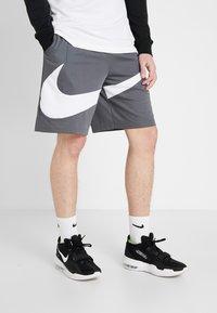 Nike Performance - DRY SHORT - Sports shorts - iron grey/white - 0