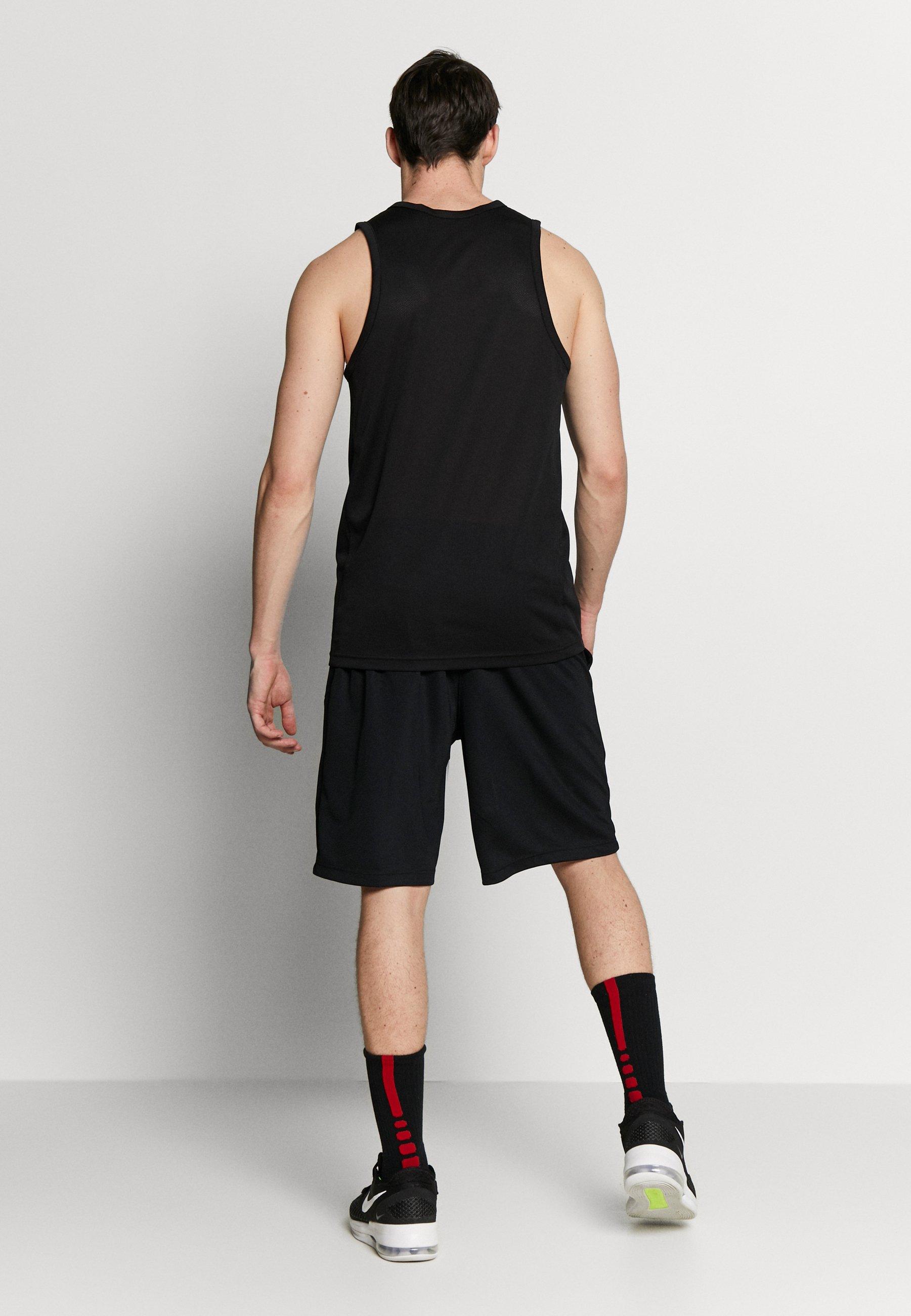 Nike Performance DRY SHORT - Krótkie spodenki sportowe - black/white