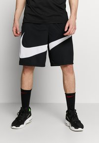 Nike Performance - DRY SHORT - Sports shorts - black/white - 0