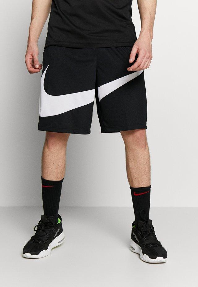 DRY SHORT - Pantaloncini sportivi - black/white