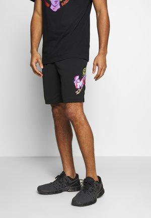 DRY SHORT - Pantalón corto de deporte - black