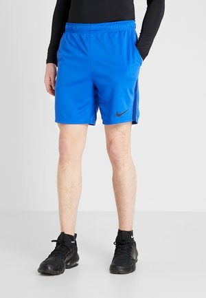 DRY SHORT - Pantalón corto de deporte - game royal/blue void/black