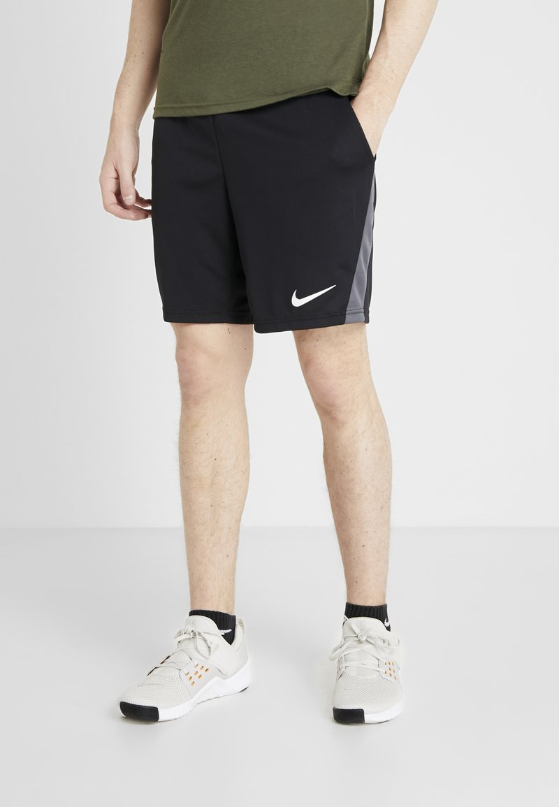 Nike Performance - DRY - Sports shorts - black/iron grey/white