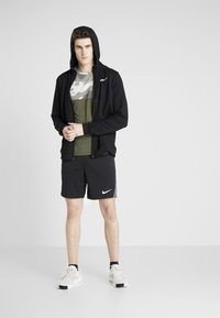 Nike Performance - DRY - Träningsshorts - black/iron grey/white - 1