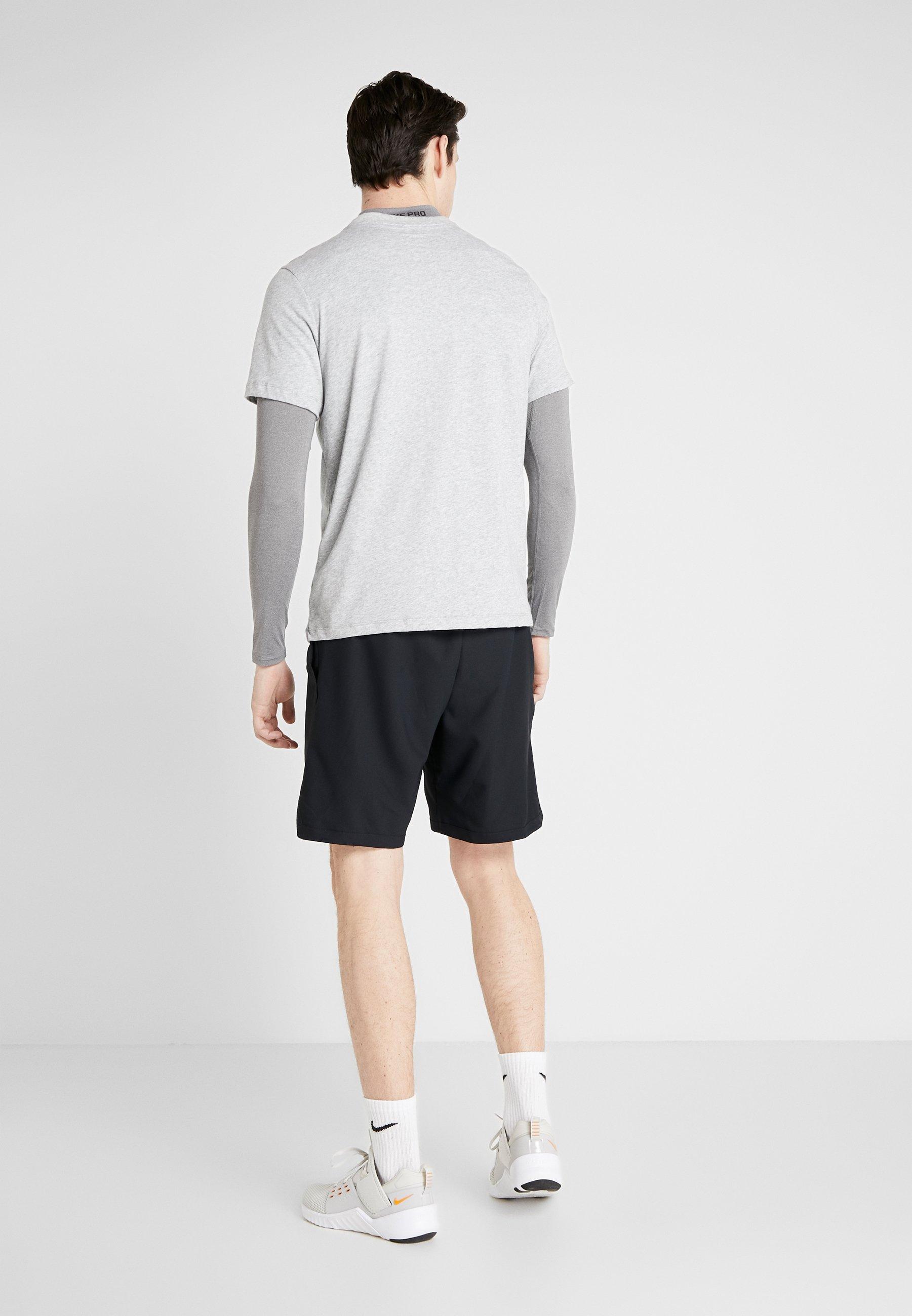 Nike Performance VENT MAX 3.0 - Krótkie spodenki sportowe - black/white