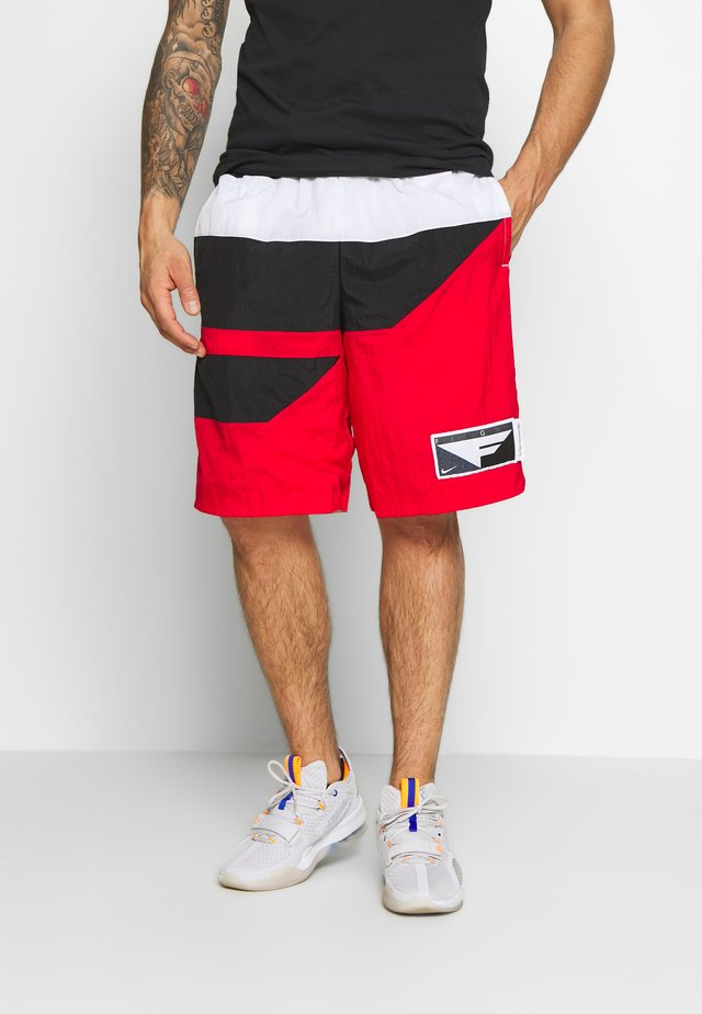 FLIGHT SHORT - Träningsshorts - university red/black/white