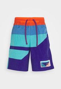 Nike Performance - FLIGHT SHORT - kurze Sporthose - regency purple/teal/mountain blue - 4
