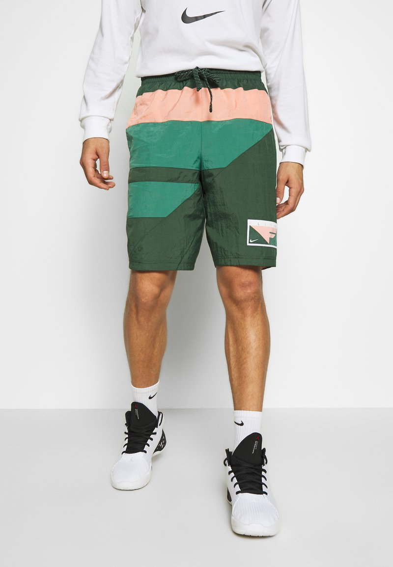 Nike Performance - FLIGHT SHORT - Pantaloncini sportivi - galactic jade/evergreen aura/pink quartz
