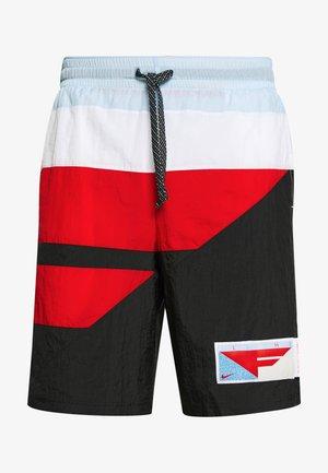 FLIGHT SHORT - Pantalón corto de deporte - black/university red/psychic blue/white