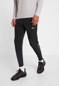 Nike Performance - ELITE PANT - Verryttelyhousut - black/silver - 0