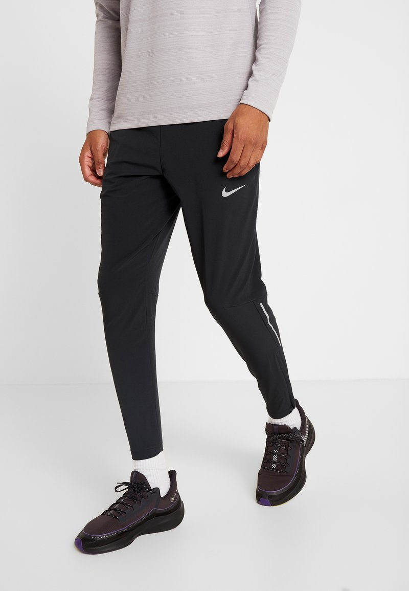 Nike Performance - ELITE PANT - Verryttelyhousut - black/silver