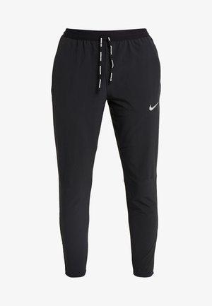 ELITE PANT - Teplákové kalhoty - black/silver