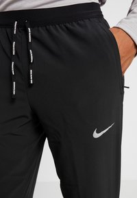 Nike Performance - ELITE PANT - Verryttelyhousut - black/silver - 6