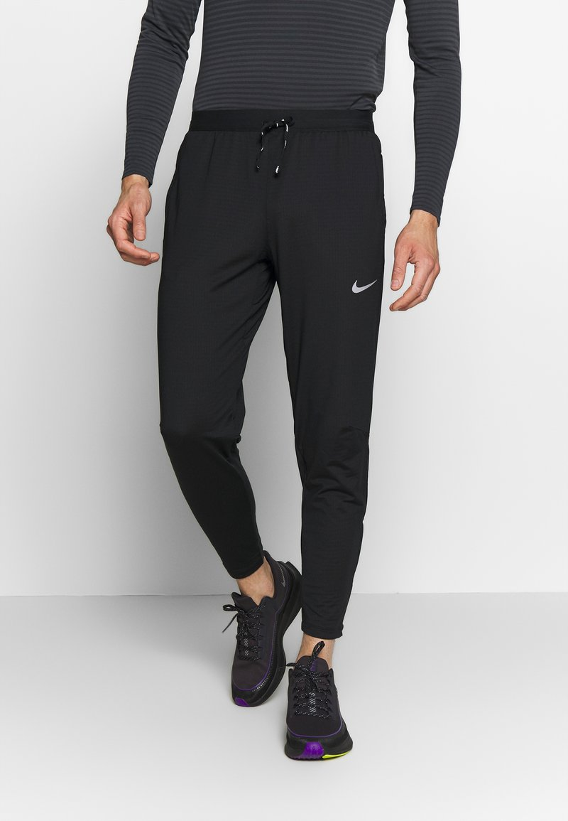 Nike Performance - ELITE PANT - Verryttelyhousut - black/reflective silver