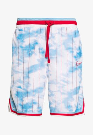 DRY CITY EXPLORATION DNA SHORT - Pantalón corto de deporte - psychic blue/university red