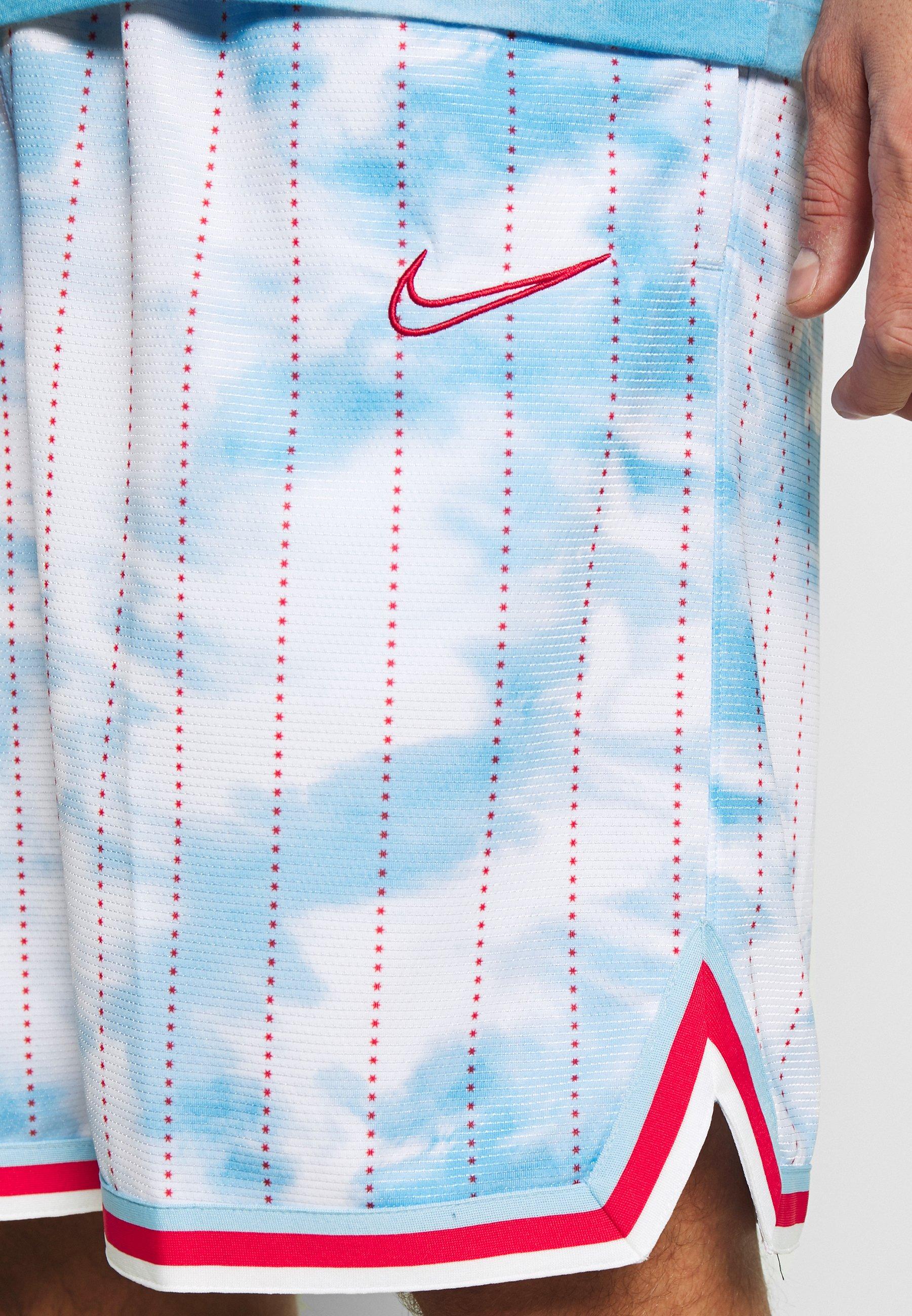 Nike Performance DRY CITY EXPLORATION DNA - Short de sport - psychic blue/university red