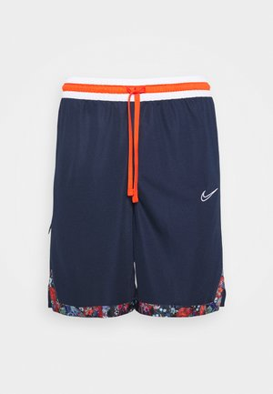 DRY DNA SHORT - Sportovní kraťasy - college navy/team orange/white