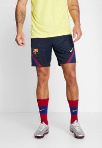 Nike Performance - FC BARCELONA DRY SHORT - Krótkie spodenki sportowe - dark obsidian/dark obsidian/sonic yellow - 0