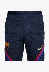 Nike Performance - FC BARCELONA DRY SHORT - Krótkie spodenki sportowe - dark obsidian/dark obsidian/sonic yellow - 4