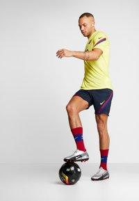 Nike Performance - FC BARCELONA DRY SHORT - Krótkie spodenki sportowe - dark obsidian/dark obsidian/sonic yellow - 1