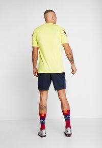 Nike Performance - FC BARCELONA DRY SHORT - Krótkie spodenki sportowe - dark obsidian/dark obsidian/sonic yellow - 2