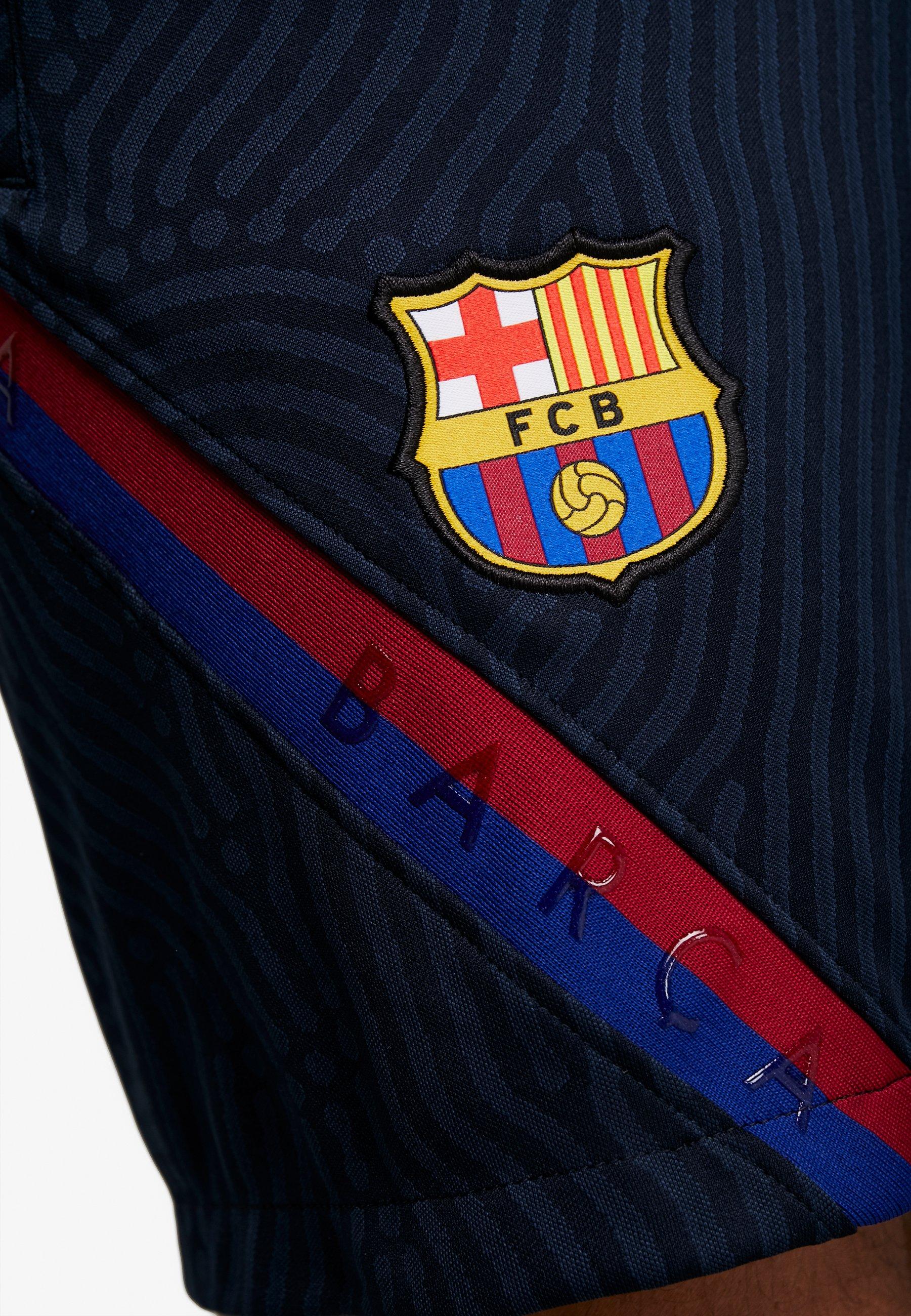 Nike Performance Fc Barcelona Dry Short - De Sport Dark Obsidian/dark Obsidian/sonic Yellow