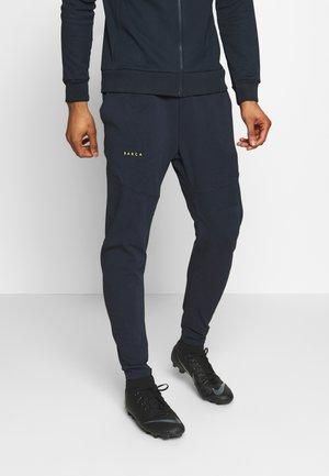 FC BARCELONA PANT - Teplákové kalhoty - dark obsidian/sonic yellow