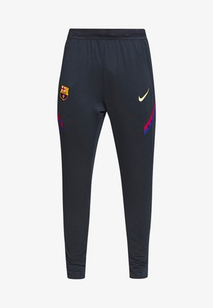 FC BARCELONA DRY PANT - Trainingsbroek - dark obsidian/sonic yellow