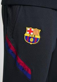 Nike Performance - FC BARCELONA DRY PANT - Teplákové kalhoty - dark obsidian/sonic yellow - 4