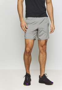 Nike Performance - FLEX STRIDE SHORT - kurze Sporthose - iron grey/heather/reflective silver - 0