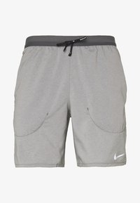 Nike Performance - FLEX STRIDE SHORT - kurze Sporthose - iron grey/heather/reflective silver - 5