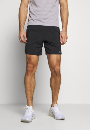 FLEX STRIDE SHORT - Korte broeken - black/reflective silver