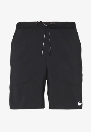 FLEX STRIDE SHORT - Sports shorts - black/reflective silver