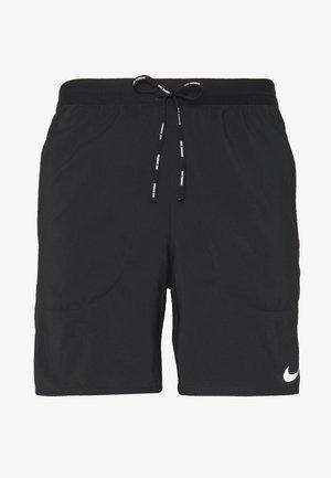 FLEX STRIDE SHORT - Sportovní kraťasy - black/reflective silver