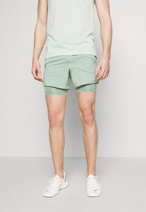 STRIDE SHORT - Sports shorts - silver pine