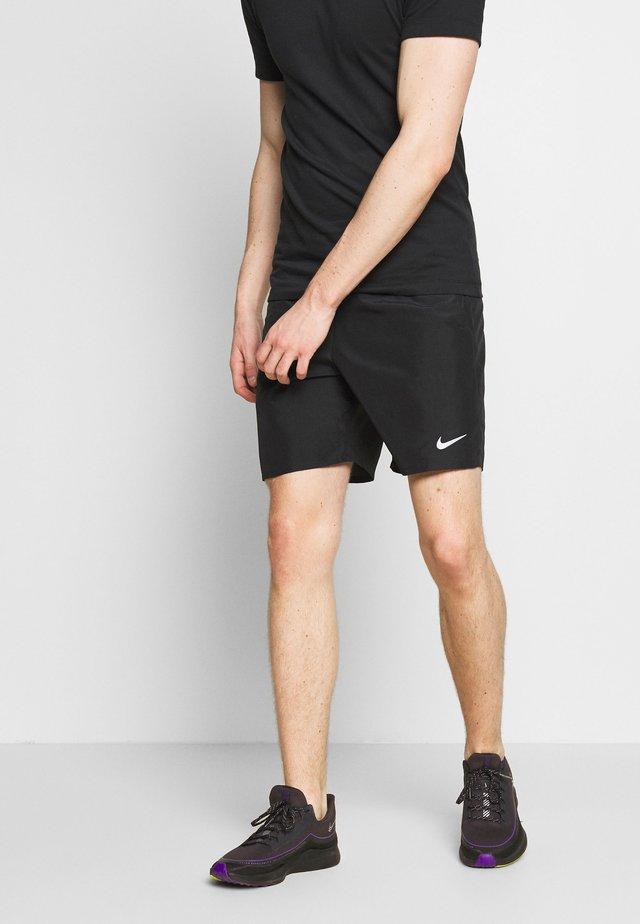 RUN SHORT - Korte broeken - black