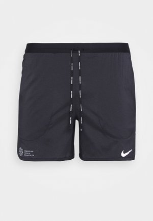 FLEX STRIDE - Sports shorts - black/reflective silver