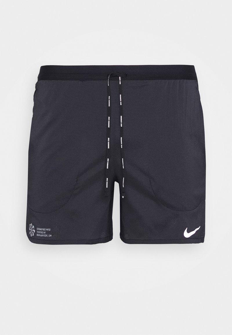 Nike Performance - FLEX STRIDE - Sports shorts - black/reflective silver