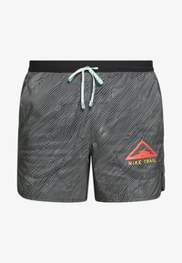 "Nike Performance - M NK FLX STRIDE SHORT 5"" TRAIL - Sports shorts - black/laser crimson - 4"