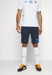 Nike Performance - DRY ACADEMY SHORT - Sports shorts - obsidian/soar/white - 0